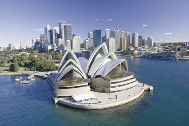 Blick auf die Sydney Oper