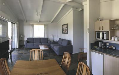 Wohnbereich im Cottage
