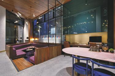 Gäste-Lounge