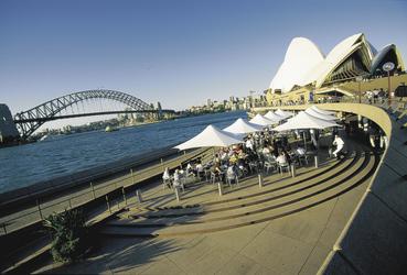 Blick auf das Sydney Opernhaus