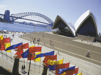 Sydney Oper & Harbour Bridge