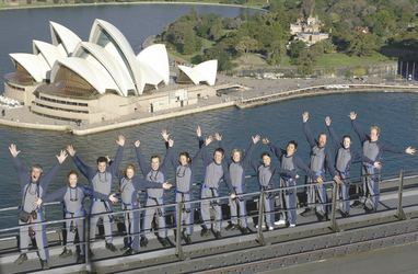 Auf Sydneys Harbour Bridge