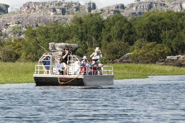 Bootsfahrt auf der Lagune