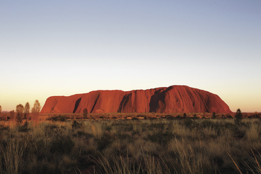 Sonnenuntergang am Uluru (Ayers Rock), ©David Hancock/SkyScans