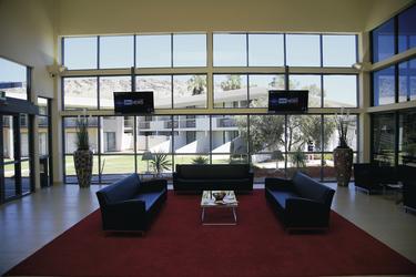 Lobby im Lasseters Hotel