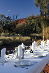 Barbecue am Uluru (Ayers Rock)