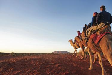 Unterwegs zum Uluru (Ayers Rock)