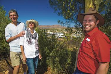 Ausblick auf Alice Springs