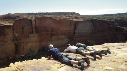 Im Kings Canyon, Watarrka Nationalpark