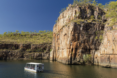 Katherine Gorge Bootstour ©Steven Pearce