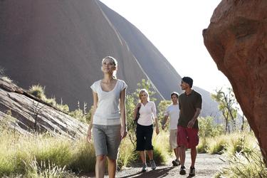 Uluru Base Walk ©Anson Smart