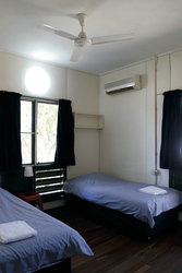 Standardzimmer wahlweise mit Einzelbetten