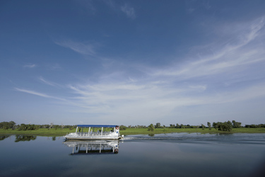 Auf der der Yellow Water Lagune