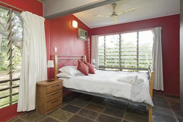 Schlafzimmer im Cooks Cottage
