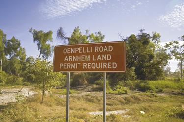 Straßenschild Arnhemland