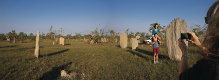 Termitenhügel Kakadu Nationalpark ©Tourism NT