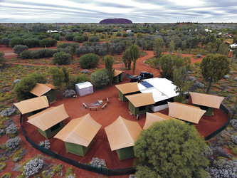 Uluru (Ayers Rock) Zeltcamp