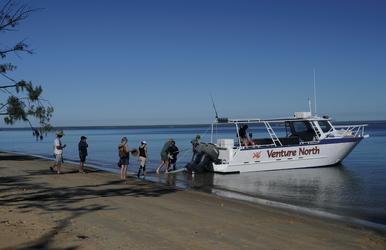 Bootstour zum Victoria Settlement
