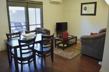 Wohnbereich, 1 Schlafzimmer Deluxe Apartment