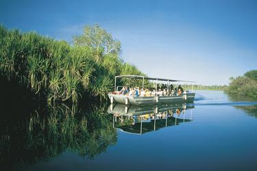 Unterwegs auf der Yellow Waters Lagune