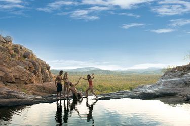 Gunlom Falls Kakadu Nationalpark