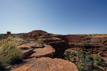 Im Kings Canyon ©Tourism NT