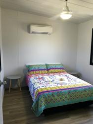 Schlafzimmer im Monsoon Cabin
