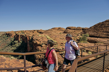 Beim Kings Canyon Walk, ©Tourism NT