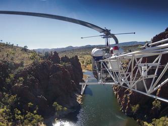 Tipp: Preiswerter Helikopterflug ab/bis Glen Helen