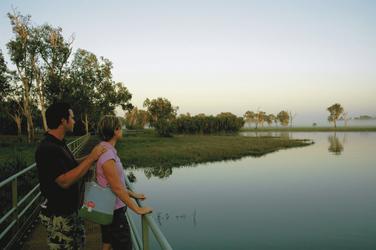 An der Yellow Waters Lagune
