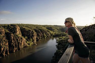 Nitmiluk (Katherine Gorge) Nationalpark ©Tourism NT