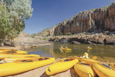 Kanufahrt in der Katherine Gorge (optional) ©Steven Pearce