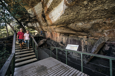 Nourlangie Rock Aboriginal Rock Art ©Tourism NT, ©Tourism NT