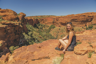Beim Rim Walk, Kings Canyon