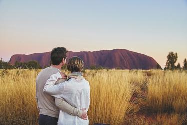 Am Uluru (Ayers Rock)