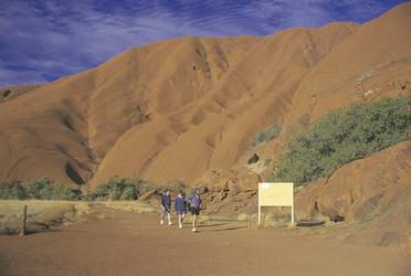 Start des Uluru Base Walk