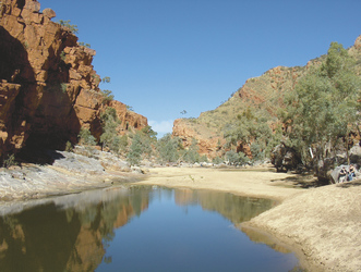 In der Ormiston Gorge