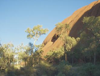 Sonnenaufgang am Uluru
