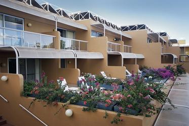 Terrace-Zimmer von außen
