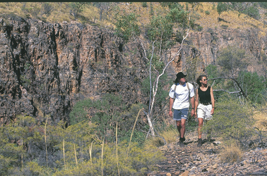 Wanderer im Nitmiluk Nationalpark
