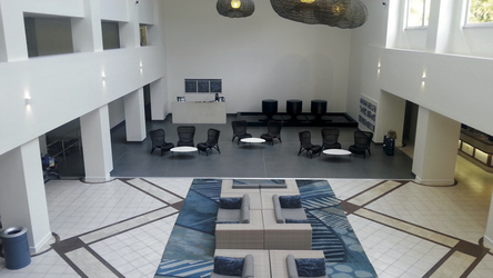 Neu gestaltete Lobby