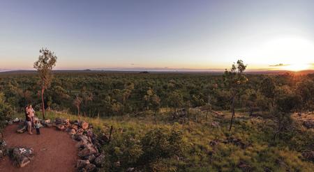 Sonnenuntergang in Undara