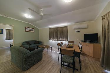 Deluxe Cabin, Wohnbereich