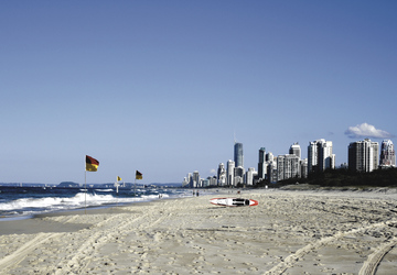 Main Beach an der Gold Coast