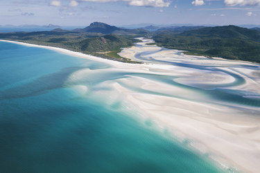 Hill Inlet und Whitehaven Beach, ©Matt Glastonbury/Tourism & Events Queensland