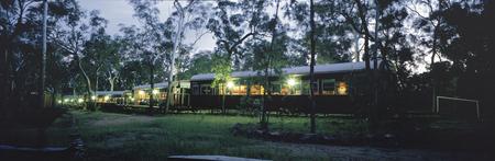 Unterkunft in Eisenbahnwagons