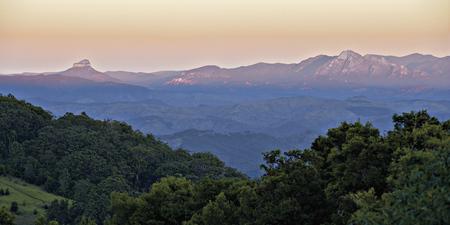 Aussicht vom Bergblickzimmer