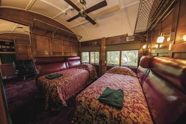 Abteil mit Einzelbetten