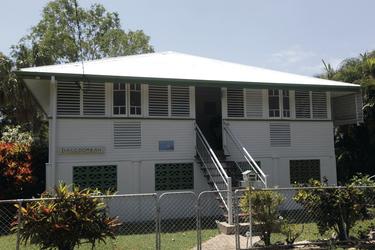 Daggoombah - typisches Queenslander Haus