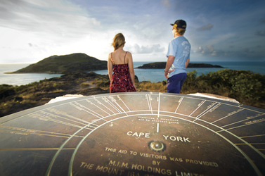 Cape York monument